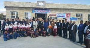 آموزشگاه ابتدایی پاسارگاد در روستای سهل آباد شهرستان زاوه افتتاح شد
