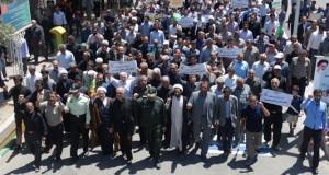 راهپیمایی روز جهانی قدس در مه ولات برگزار شد