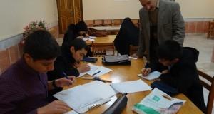 برگزاری آزمون سراسری خوشنویسی در شهرستان مه ولات