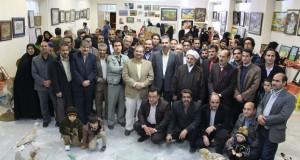 اولین جشنواره هنرهای تجسمی سفیرنور در شهرستان مه ولات برگزار شد