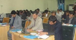 جلسه مشترک شورای اداری و روابط عمومی ها در محل سالن اجتماعات فرمانداری برگزار گردید.