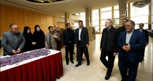 نمایشگاه گل زعفران در مجلس شورای اسلامی