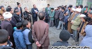 بررسی مشکلات روستاهای بخش رخ تربت حیدریه با حضور دکتر خسروی
