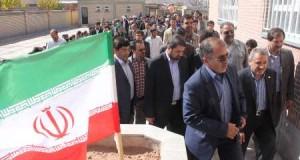 سه مدرسه و یک سالن ورزشی در تربت حیدریه بهره برداری شد