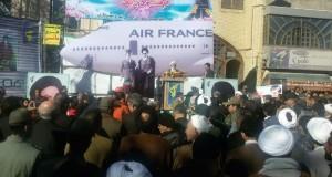 حضور دست اندرکاران بخش حمل ونقل جاده ای شهرستان تربت حیدریه در مراسم آغازین جشن های سی وهفتمین سالگرد پیروزی انقلاب اسلامی