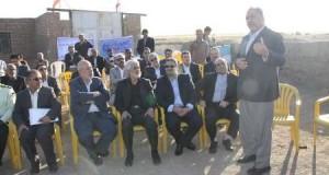 بازدید وزیر نیرو از پروژه یکپارچه سازی زمینهای کشاورزی تربت حیدریه