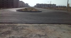 آسفالت معابر و برقراری خط اتوبوس جهت مسکن مهر شهرستان تربت حیدریه