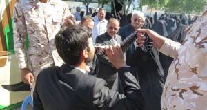 اعزام ۲۵۰نفر از مردم شهرستان زاوه به مراسم سالروز ارتحال حضرت امام خمینی (ره)به روایت تصویر