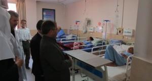بازدید دکتر خسروی از بیمارستان رازی تربت حیدریه