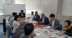 بازدید نمایندگان مجلس ایران از دانشگاه واسدا در توکیو