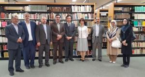 نمایندگان مجلس شورای اسلامی ایران  از دانشگاه مطالعات خارجی توکیو بازدید کردند