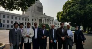 بازدید نمایندگان مجلس ایران ازپارلمان ژاپن