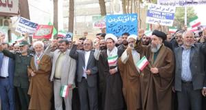 راهپیمایی ۲۲ بهمن تربت حیدریه به روایت تصویر