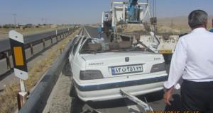 کاهش چشمگیرآمار تصادفات منجر به فوت در شهرستان تربت حیدریه
