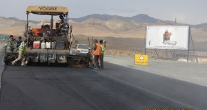 روکش آسفالت ۱.۵ کیلومتر راه شریانی تربت حیدریه _مشهد